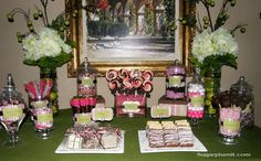 Wedding shower / Candy Buffet | CatchMyParty.com