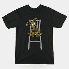 ======= Shirt for Sale ======= Five Nights at Freddy's - Plushtrap tshirt by Kaiserin. =========================   #FNAF
