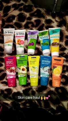 Brands shown: Freeman Feeling Beautiful, St. Ives and Queen Helene