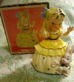 Vintage NAPCO Figurine Alice in Wonderland OrigBox MIB (06/10/2011)