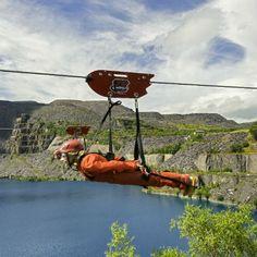 Zip Wire Snowdonia adventure