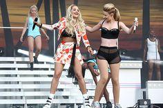 July 4: Iggy Azalea and Rita Ora perform at Wireless Festival at Finsbury Park in London, United Kingdom.