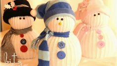 This Helpful Video Will Show You How Easy it Is To Make A Sock Snowman