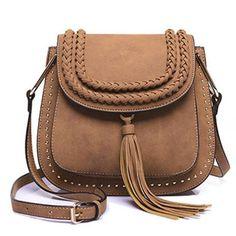Cupshe Leave You Hanging Tassel PU Bag