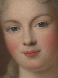 Marie Adélaïde de Savoie, Duchesse de Bourgogne (detail) / Pierre Gobert / Oil on canvas, 1701 / The Metropolitan Museum of Art
