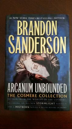 Just received this awesomeness! Very excited! Thanks Tor! Review coming soon! Mightythorjrs.wordpress.com  @torbooks @BrandSanderson