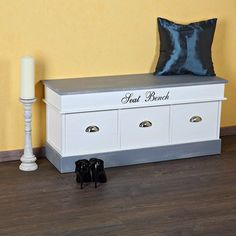 exklusive truhe rosali bank landhaus truhenbank shabby. Black Bedroom Furniture Sets. Home Design Ideas