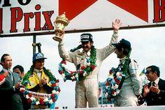 Clay Regazzoni winner of the British Grand Prix 1979