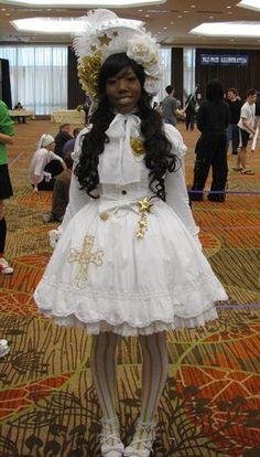 black girl does lolita