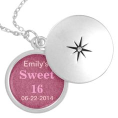 Sweet sixteen necklace