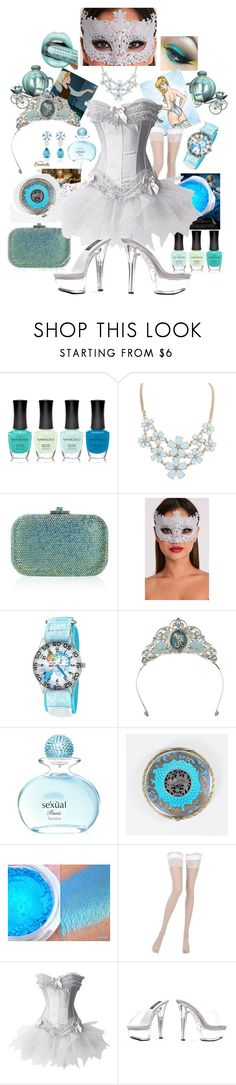 Some Day Your Prince Will Come by deborah-ruggiero on Polyvore featuring Disney, La Perla, Judith Leiber, Michel Germain and Chopard