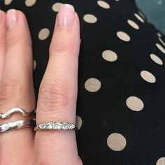 Gemma-Rose Bunyan-Lansdown added a photo of their purchase Seed Pearl Ring, Vintage Items, Vintage Jewelry, Victorian Ring, My Engagement Ring, Ring Crafts, Gold Flats, Three Stone Rings, Garnet Rings