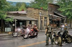 The Sound Of Thunder As They Gathered .... by Rat Rod Studios, via Flickr