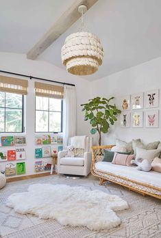 25 Cozy Bedroom Decor Ideas that Add Style & Flair to Your Home - The Trending House Living Room Playroom, Office Playroom, Playroom Decor, Bedroom Decor, Modern Playroom, Sunroom Playroom, Modern Kids Bedroom, Baby Bedroom, Playroom Design