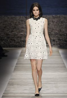 Blugirl Spring Summer 2014 Fashion Show Collection #mfw