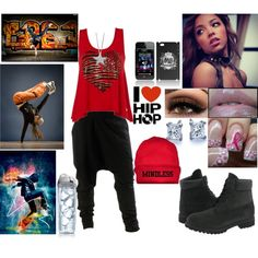 Hip Hop Dancing :)), created by rayraylover-143 on Polyvore