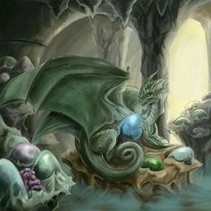 Enchanting dragon