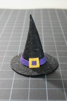 Mini Felt Witch Hat