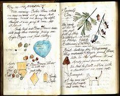 Ken Scott original Field Journal