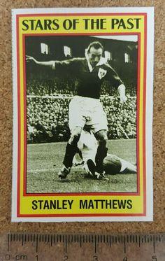 panini 85 (1985) #Football sticker past stars blackpool sir stanley matthews from $2.48