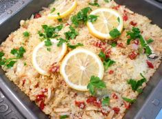 Tilapia Baked in Couscous from Food.com:   								base on recipe from rachel ray everday - Couscous steams right along with the fish in this delicious one-dish meal.    Substitute any thin, delicate white fish, such as red snapper or sole, for the tilapia.