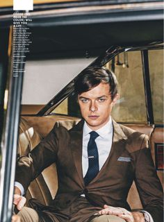 Actor Dane DeHaan Is it just me, or does he look like a young Leonardo Di Caprio?