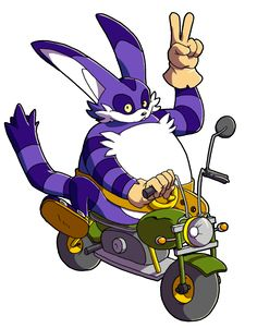 """adamisart: """" Big the Cat enjoys his ride  Redbubble : http://www.redbubble.com/people/pandamis/works/22381260-big-the-cat-enjoys-his-ride?grid_pos=1&p=t-shirt Teepublic : https://www.teepublic.com/t-shirt/571668-big-the-cat-enjoys-his-ride You like..."""