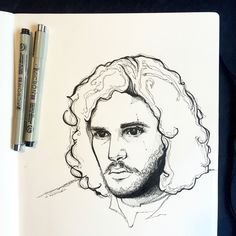 You know nothing Jon Snow.   king of the north, game of thrones, Kit Harrington, Jon Snow, illustration, illustration of the day, handmade, graphic design, sketch, art, instaartist, ink, pen and ink, my art, art of the day, drawing, draw, sketchbook, moleskin, game of thrones art, pen and paper, nerd art, micron pens, fan art, illustrate, design, utah artist, creativity found, minimalistic, instagood