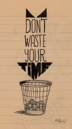 Don't waste your time - www.dirtyharry.es