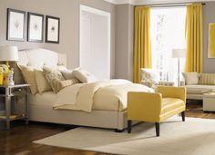 Jonathan Louis bedroom love yellow and grey!!!!