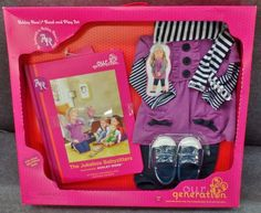 Description: Our Generation Ashley Roses Read And Play Set Fits Most 18 inch Dolls Ages 3 and Up/  Item ID: 21 TARGET