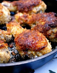 Oven-Fried Panko Crusted Chicken Drumsticks are coated in an extra crunchy seasoned panko crust and then baked in the oven until they are golden brown and extra juicy. No one will believe that they're baked and not fried in oil!