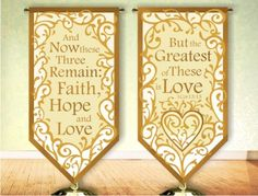 Image detail for -Wedding Church Banner Patterns 3x6