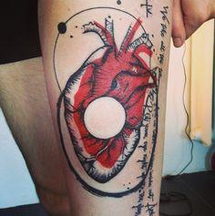 tattoo - heart -  Aga Mlotokowska