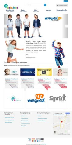 New ecommerce website from Art On Web. Babylandamaliada.com built in Joomla 3.8.5 with component Virtuemart 3.2.12
