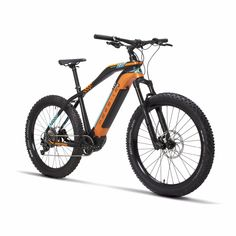 26x17 Inch Electric Mountain Bike Oil Hydraulic Disc Brake Lockable Shock Front Fork Bafang Front Drive Motor Smart Sensor Ebike Cheap Sales Cycling