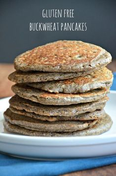 Minus the cardamon, these Gluten Free Buck Wheat Pancakes are LEAP friendly. www.mountainmamacooks.com