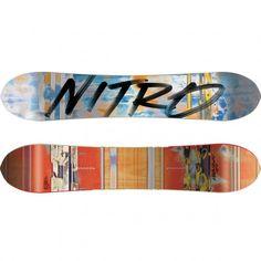 Nitro Überspoon snowboard blue red