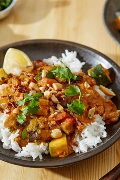 NYT Cooking: Hearty stews needn't be meat-laden. Case in point: this rich, vibrantly-spiced vegan stew of eggplant, tomatoes, zucchini and peanut butter that is seasoned with North African spices like cumin, coriander, turmeric and cayenne. Fresh ginger and jalapeño add a little kick.