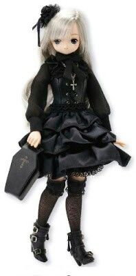 Azone Pure Neemo EX Cute Secret Wonderland Lien Doll Gothic Lolita Fashion, Victorian Fashion, Long White Hair, Doll Japan, Dye My Hair, Barbie And Ken, Cute Bows, Lolita Dress, Bjd Dolls