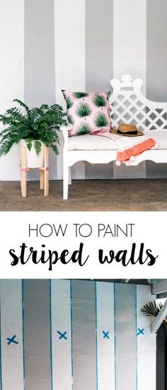 How To Paint Perfect Stripes