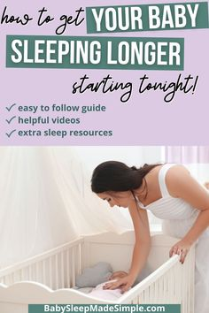 If you want to start sleeping longer starting tonight, you can follow this guide. It has got EVERY sleep resource you need to get your baby or toddler sleeping through the night, including a bedtime routine, age appropriate schedules, and much more. Find out how to ACTUALLY get your baby or toddler sleeping longer stretches at night, the easy way. #sleepthroughthenight #sttn #babysleep #toddlersleep How To Get Sleep, Good Night Sleep, Baby Sleep Schedule, Toddler Sleep, Sleeping Through The Night, Bedtime Routine, Everything Baby, Baby Milestones, Training Tips