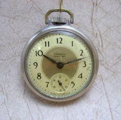 Vintage Westclox Pocket Ben Pocket Watch - Manufactured in Canada April 1937