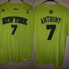 295e6784a Carmelo Anthony Knicks shirt by Addidas This shirt is in excellent  condition no flaws stains or wear and tear damage free adidas Shirts Tees -  Short Sleeve