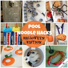 I absolutely LOVE Halloween but I'm having a hard time letting the summer go. I thought what better way to recycle those pool noodles by turning them into fabulous Halloween decorations and costumes! Seriously, people are so creative! Check out these amazing ideas! Everything from decorations to costumes and more! This is Pool Noodle Hacks: …