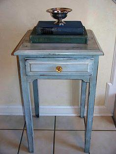 The Pauper's Castle One Milk Paint Table
