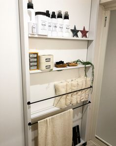 Love Home, Ladder Bookcase, House Rooms, Shoe Rack, Diy And Crafts, New Homes, Shelves, Bathroom, Storage