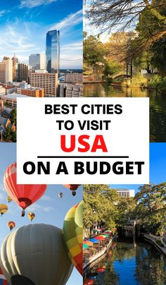 Looking for budget friendly travel destination in the USA? Check out this guide with everything you need to know! Cheap cities in the USA to visit, United States of America travel destinations, USA budget trips, trip planning for America, visiting the states, cheap cities, cheap destinations, budget friendly travel, family vacation, backpacking in the USA #budget #USA #travel