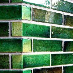 #Green #tiles