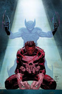 Dark Reign - Daken vs Punisher by John Romita Jr.